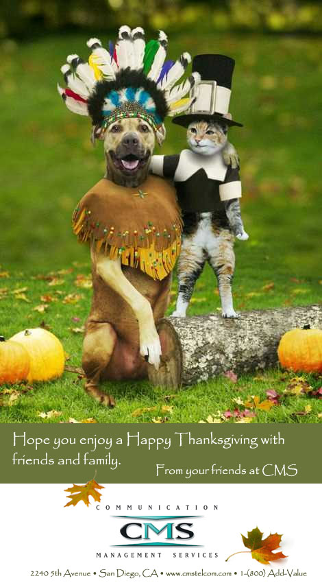 happy thanksgiving best wishes from cms